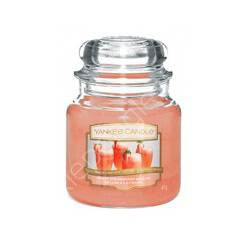 Świeca Yankee Candle Słoik średni White Strawberry