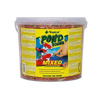 Pokarm dla ryb  5l Pond Sticks Mixed