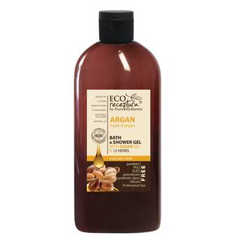Żel do kąpieli Eco Receptura Moroccan Argan 500ml