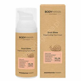 Krem do twarzy Bodymania Ślimak 50ml
